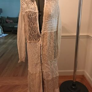 Free People 'duster' type Sweater